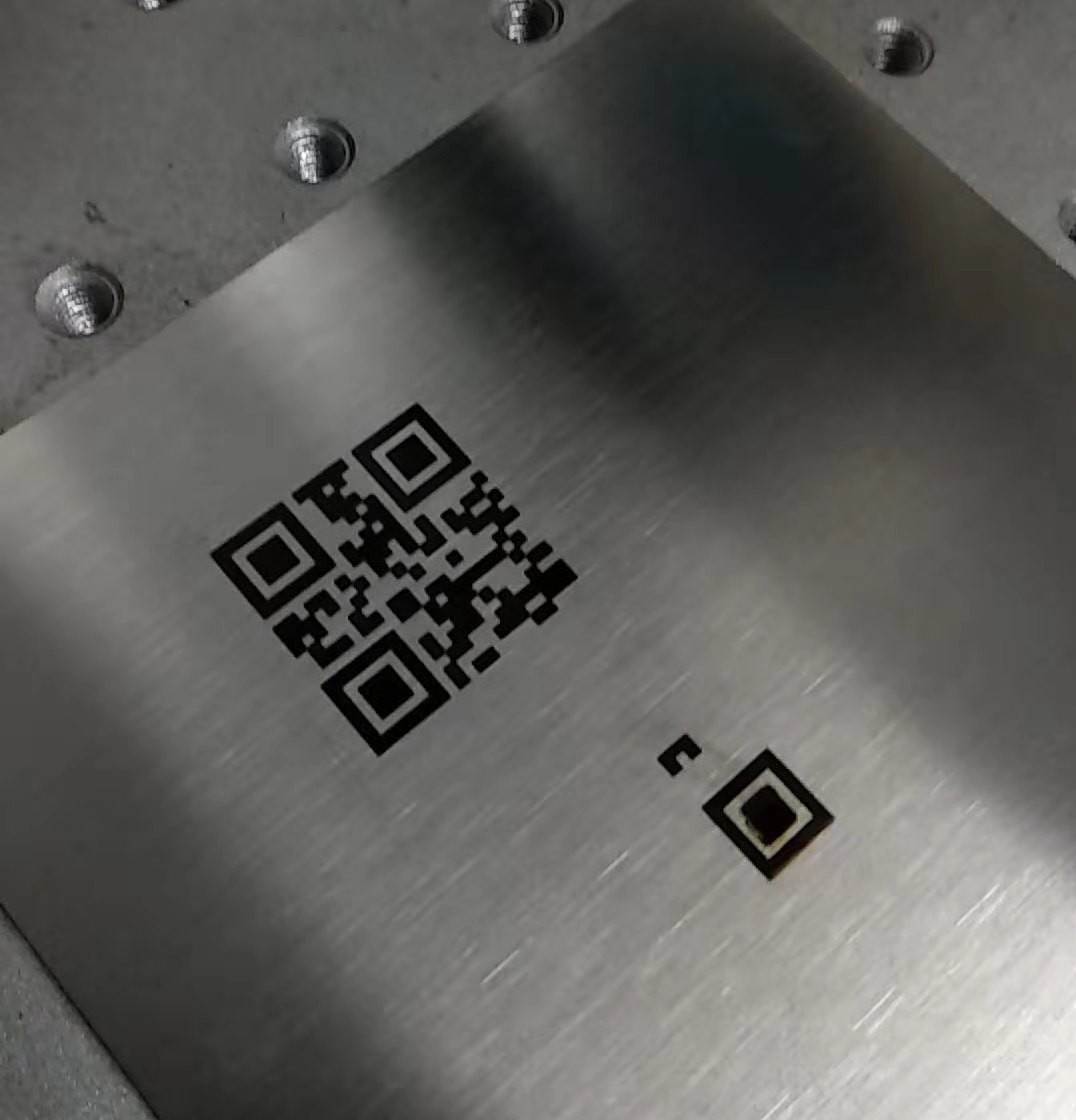 Parameters of Laser Marking Machine Marking Black