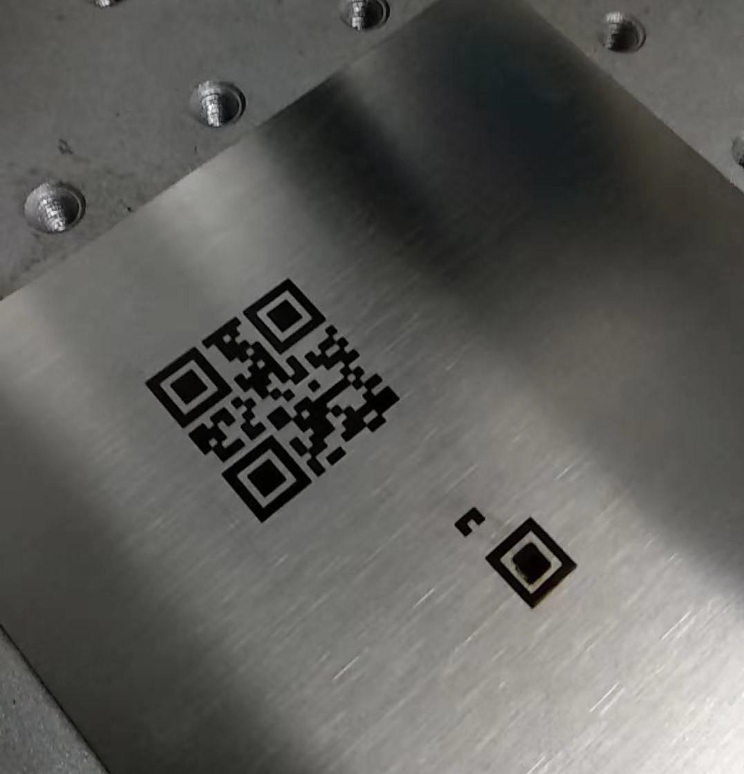 Parameters of Laser Marking Machine Marking Black